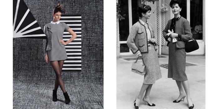 El tweed de Chanel en el mundo de las moquetas.