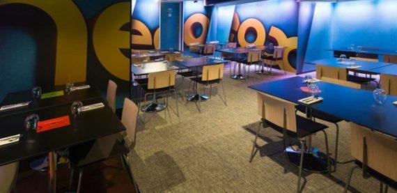 A3 Media Café - asan instalación pavimentos